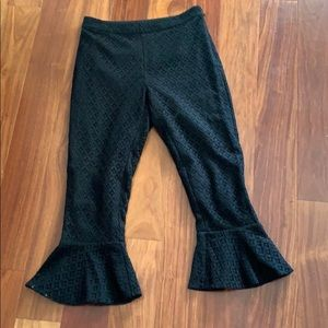 Ankle length with flair pants